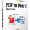 Aiseesoft PDF to Word Converter Latest Version