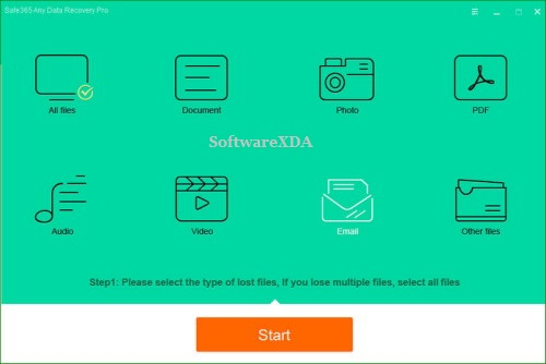 Safe365 Any Data Recovery Pro