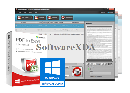 software to convert pdf to excel online
