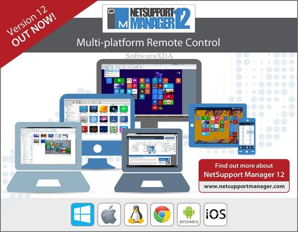NetSupport Manager V12 Now Available (CNW Group/NetSupport Canada Inc.)