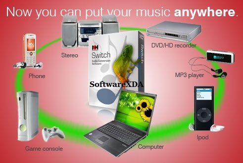 NCH Switch Sound File Converter Plus