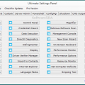 Ultimate Settings Panel 5.2