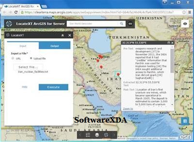Clear Terra LocateXT ArcGIS for Server Tool