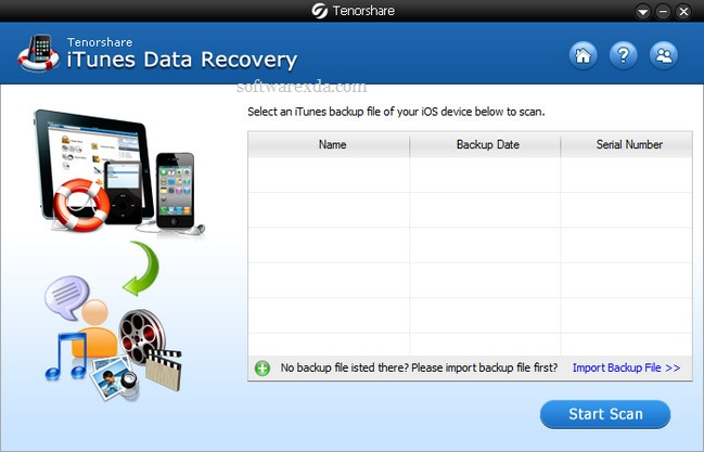 Tenorshare iTunes Data Recovery